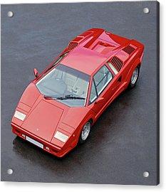 1990 Lamborghini Countach Qv Acrylic Print