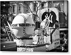 1996 Yankees Float Acrylic Print by John Rizzuto