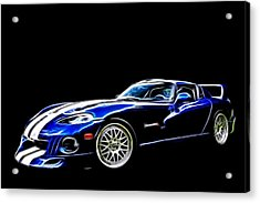 1997 Viper Hennessey Venom 650r 5 Acrylic Print