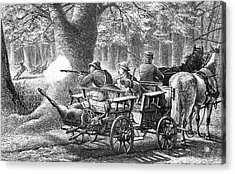 19th Century Game Drive Acrylic Print by Bildagentur-online/tschanz