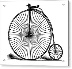 19th Century Penny-farthing Acrylic Print