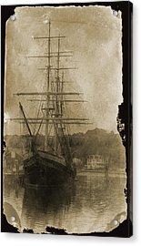 19th Century Schooner Acrylic Print