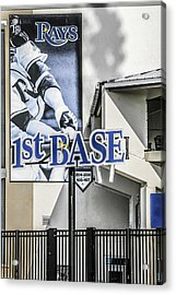 1st Base Acrylic Print