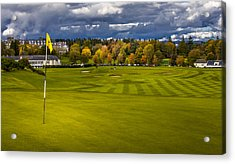 Prints For Sale Kings Golf Course Gleneagles Acrylic Print