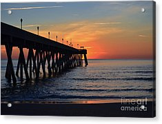 1st Sunrise Of 2015 - 4 Acrylic Print