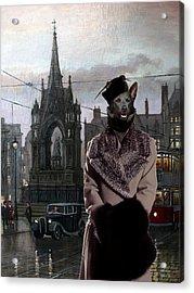 Australian Kelpie Art Canvas Print Acrylic Print