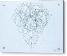 Diamond Quanta Acrylic Print
