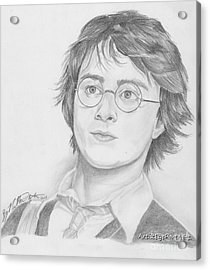 Harry Potter Acrylic Print by Nathaniel Bostrom