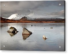 Lochan Na H-achlaise Acrylic Print by Grant Glendinning