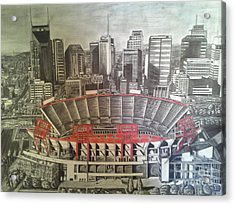 10 I C Acrylic Print by Slade Summers