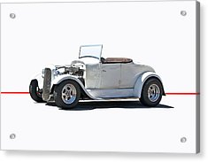 1930 Ford Model A Roadster Acrylic Print by Dave Koontz