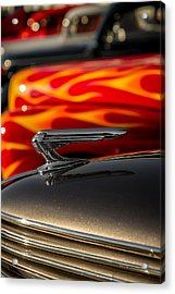 1939 Graham Coupe Hood Ornament Acrylic Print