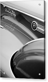 1941 Packard 1907 Custom Eight One-eighty Lebaron Sport Brougham Side Emblems Acrylic Print by Jill Reger