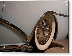 1954 Buick Century Convertible Acrylic Print by David Patterson