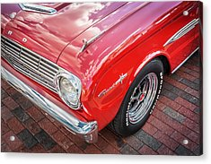 1963 Ford Falcon Sprint Convertible  Acrylic Print by Rich Franco