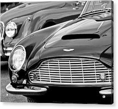 1965 Aston Martin Db6 Short Chassis Volante Acrylic Print
