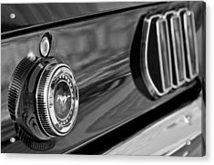 1969 Ford Mustang Taillights Acrylic Print by Jill Reger