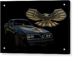 1978 Pontiac Trans Am  Acrylic Print by Tim McCullough