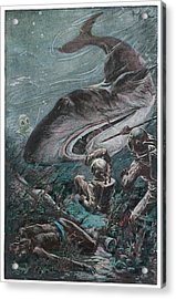'20,000 Lieues Sous Les Mers' [20 000 Acrylic Print by Mary Evans Picture Library