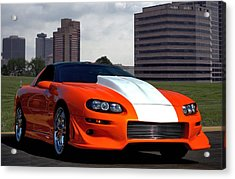 Acrylic Print featuring the photograph 2002 Camaro Z28 by Tim McCullough
