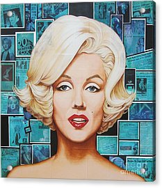 20th Century Fox Acrylic Print by Joseph Sonday