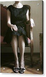 40s Lady Acrylic Print
