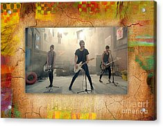 5 Seconds Of Summer  Acrylic Print by Marvin Blaine