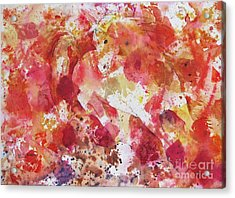 Acrylic Print featuring the painting A Horse Appeared by Joan Hartenstein