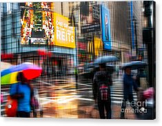 A Rainy Day In New York Acrylic Print
