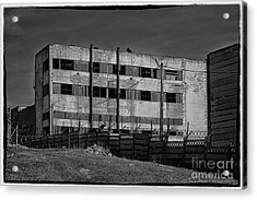 Abandoned Factory At Vadu Acrylic Print by Gabriela Insuratelu