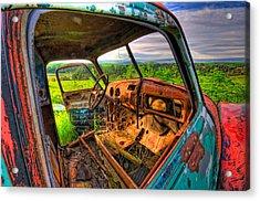 Abandoned Rusting Truck Acrylic Print