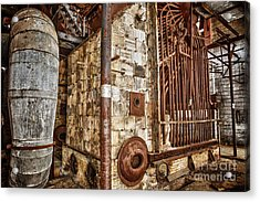 Abandoned Steam Plant Acrylic Print