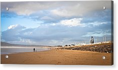 Aberafan Beach Acrylic Print by Tom Gowanlock