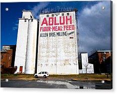 Adluh Flour Acrylic Print by Joseph C Hinson Photography