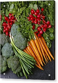 Agriculture - Mixed Vegetables Acrylic Print