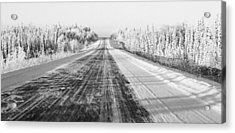 Alaska Highway 1 Acrylic Print by Juergen Weiss