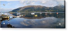 Acrylic Print featuring the photograph Along Loch Leven 3 by Wendy Wilton