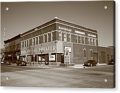 Alpena Michigan - Thunder Bay Theatre Acrylic Print