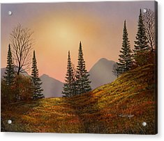 Alpine Sunset Acrylic Print