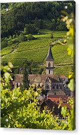 Alsace Church Acrylic Print by Brian Jannsen