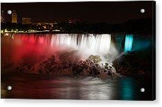 American Falls Acrylic Print