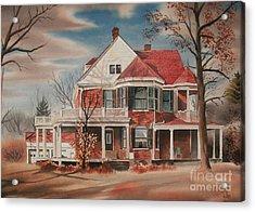 American Home IIi Acrylic Print by Kip DeVore