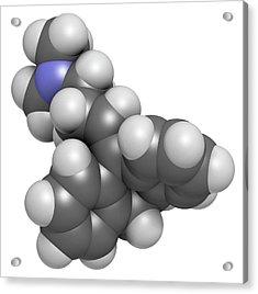 Amitryptiline Tricyclic Antidepressant Acrylic Print by Molekuul