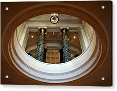 Acrylic Print featuring the photograph An Oculus by Cora Wandel