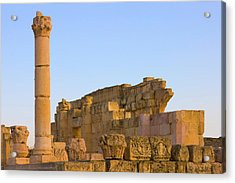 Ancient Jerash Ruins, Amman, Jordan Acrylic Print by Keren Su