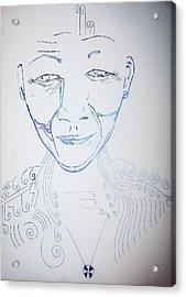 Angel Madiba - Nelson Mandela Acrylic Print by Gloria Ssali