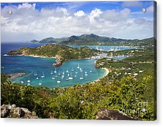 Antigua Acrylic Print by Brian Jannsen