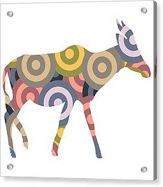 Antilope Acrylic Print by Celestial Images