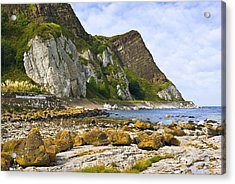 Antrim Coast Northern Ireland Acrylic Print by Jane McIlroy