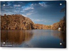 Apalachicola River  Acrylic Print by Debra Forand